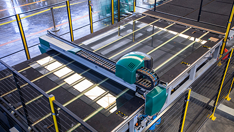 楼梯之窗:《兰迪机器通过SGS供应商认证》
