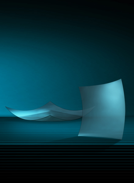 双曲面弯钢化玻璃(E)