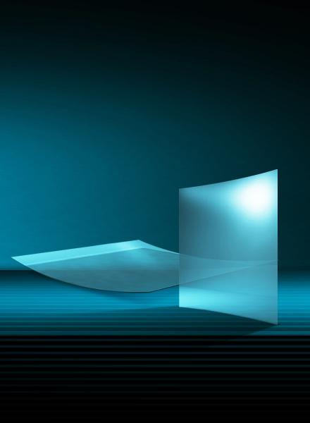 单曲面弯钢化玻璃(B)