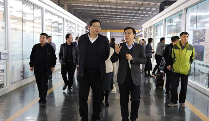 省市场监管局党组成员刘怀章一行调研兰迪机器